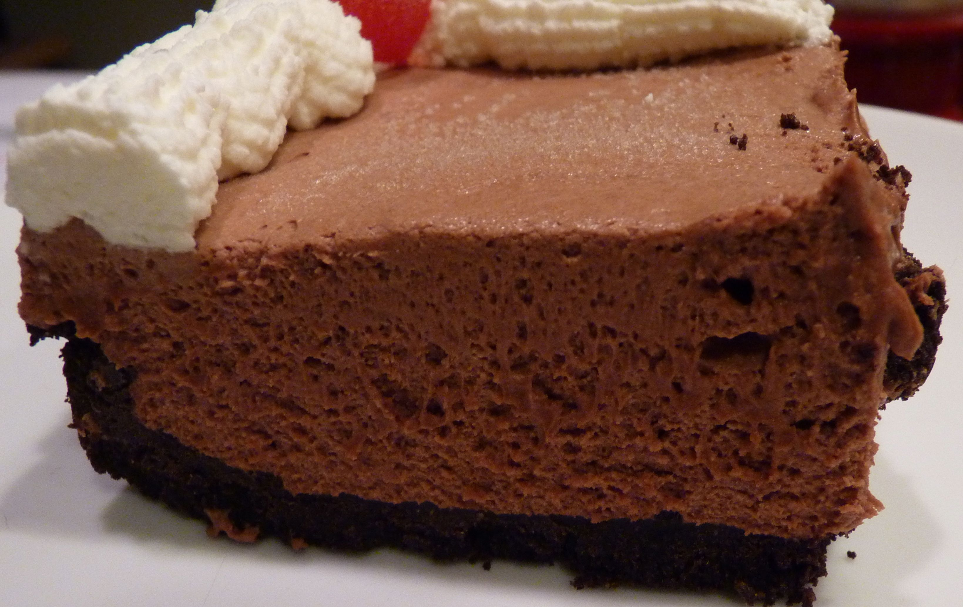 Chocolate Thriller Frozen Chocolate Pie | Bake with Jill