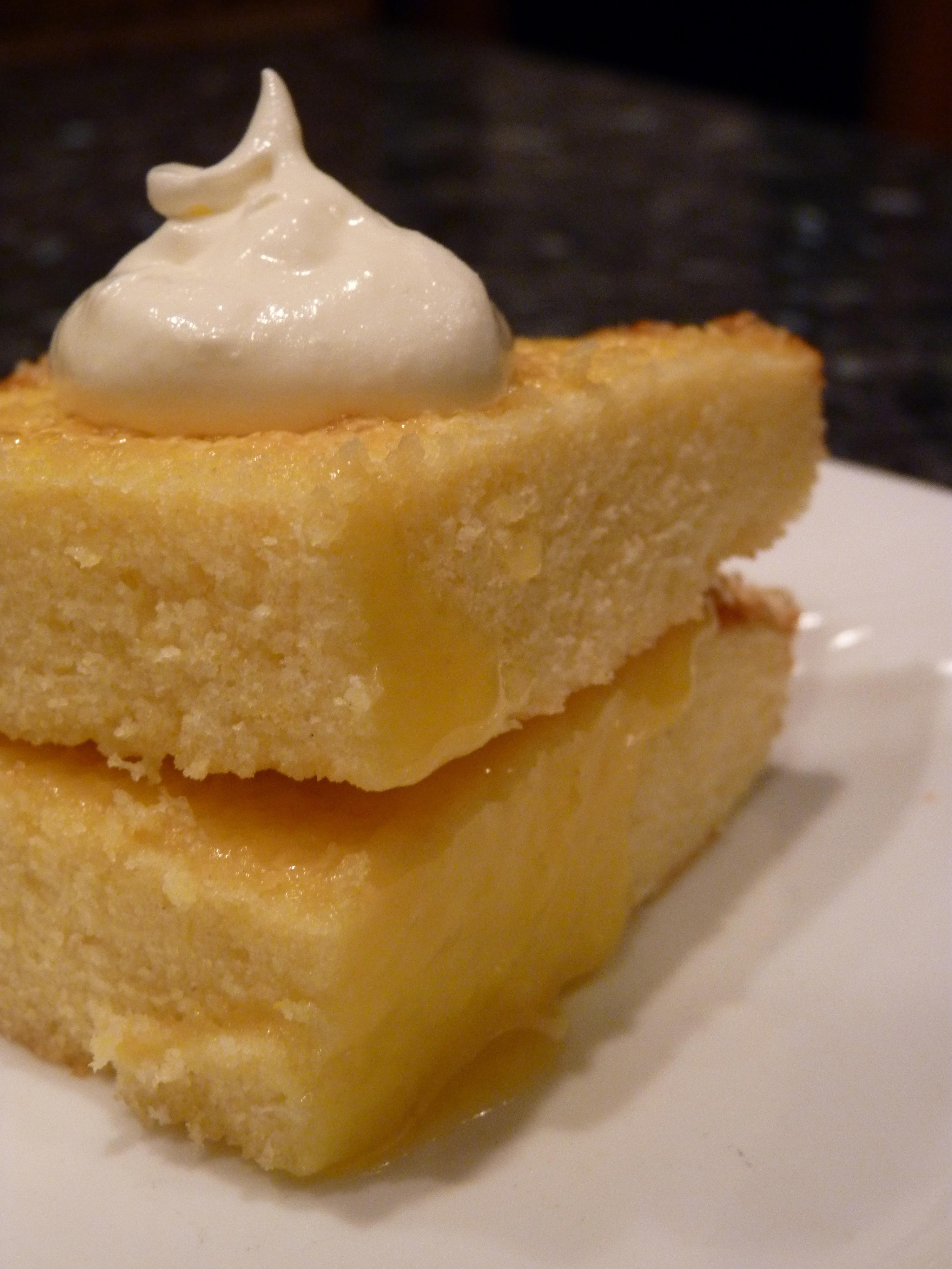 Cake You Bake Lemon Loaf In Round Pans