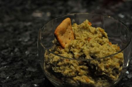 artichoke-olive dip