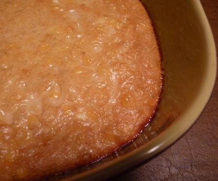 Bourbon Corn Pudding